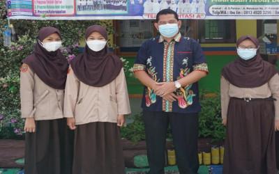 Tiga  Siswa MTs Annur Bersaing di Ajang KSM  Tingkat Kota