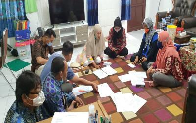 MTs Annur Gelar Rapat Persiapan Ujian Madrasah (UM) 2021