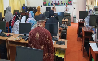 MTs Annur Gelar Rakoor Persiapan Penilaian Akreditasi Madrasah Tahun 2021