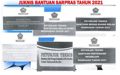 Juknis Bantuan Sarpras Madrasah Tahun 2021